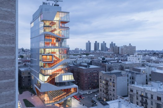 Roy and Diana Vagelos Education Center in New York, US / Diller Scofidio + Renfro. Image © Iwan Baan