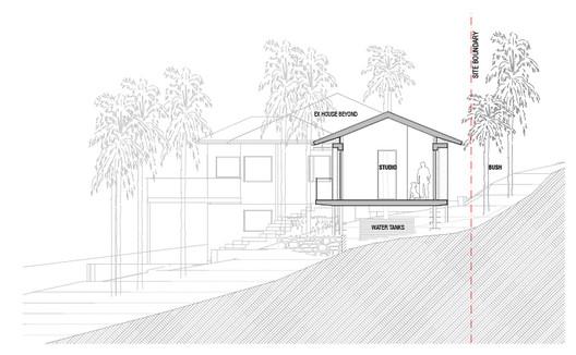 BBP_A-03_SECTION_01 Bilgola Beach Pavilion / Matthew Woodward Architecture Architecture