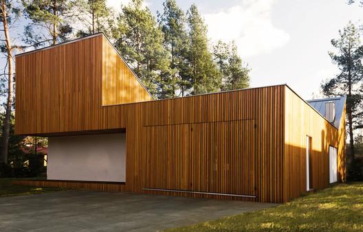 FOREST_HOUSE_KZ_PHOTO_(6) Forest House in Kuźnica Kiedrzyńska / grupaVERSO Architecture