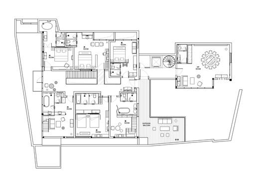%E4%BA%8C%E5%B1%82%E5%B9%B3%E9%9D%A2%E5%9B%BE%EF%BC%8Cthe_second_floor_plan Yu Hotel / Shanghai Benzhe Architecture Design Architecture