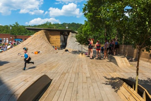 Masonic Amphitheatre, Design/Build Lab at Virginia Tech. Image © Jeff Goldberg - ESTO
