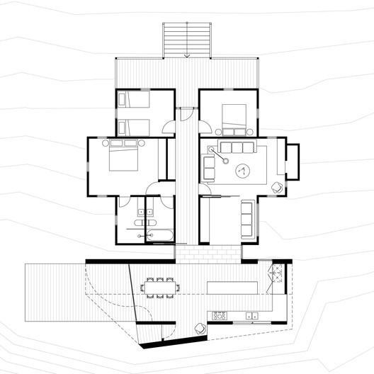 Plan Limerick House / Solomon Troup Architects Architecture