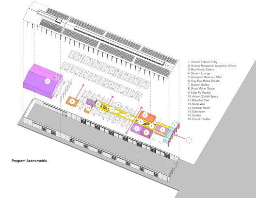 8 Fort Mason Center for Arts & Culture / LMS Architects Architecture