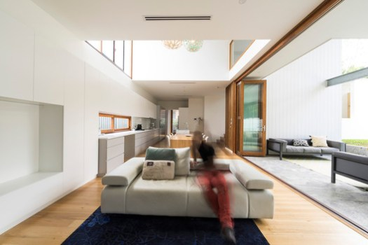 Backyard House / Joe Adsett Architects. Image Courtesy of Joe Adsett Architects