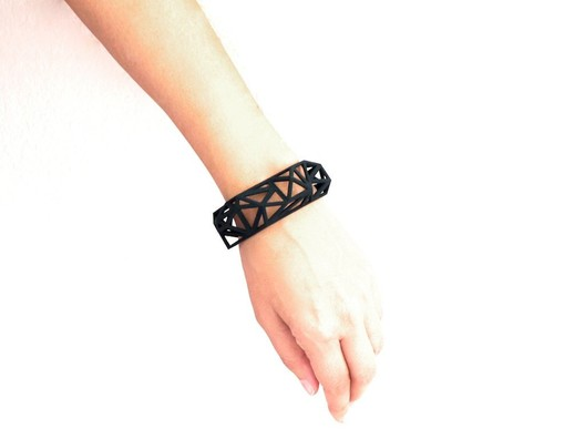 Triangulated_Cuff_Bracelet__2_-_Archetype_z_studio_ Wearable Architecture: 11 Architecture-Inspired Jewelry Lines Architecture