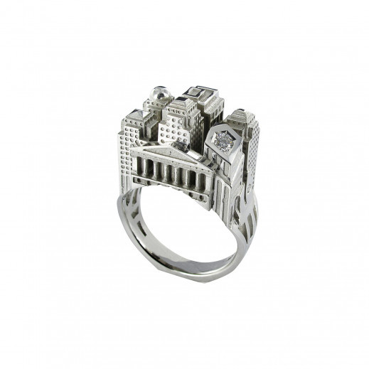 Tournaire_Ring Wearable Architecture: 11 Architecture-Inspired Jewelry Lines Architecture