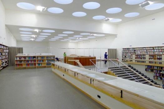 Biblioteca Viipuri / Alvar Aalto. Image Cortesia de The Finnish Committee for the Restoration of Viipuri Library