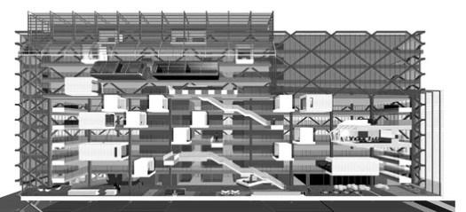 Cortesía de Clive Wilkinson Architects