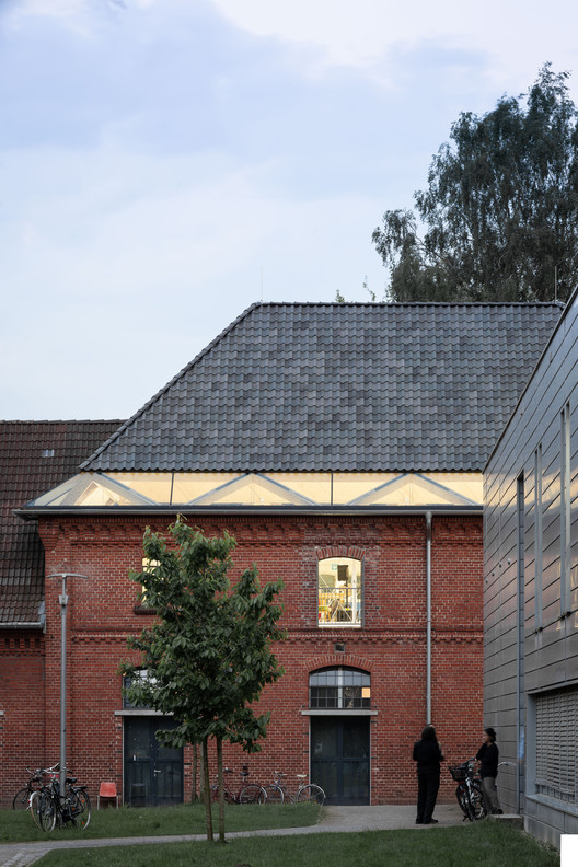 23_IMG_1838-Pano New Ateliers University of Fine Arts / ANDREAS SCHÜRING ARCHITECTS Architecture