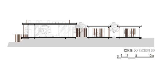 CORTE_DD_-_Final Lake House / Ana Paula e Sanderson Arquitetura Architecture