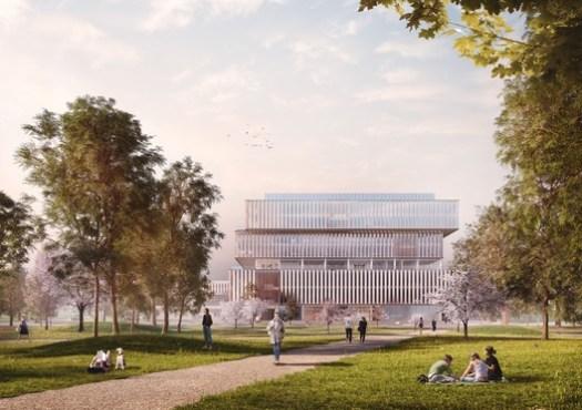 Quad campus. Image Courtesy of Schmidt Hammer Lassen
