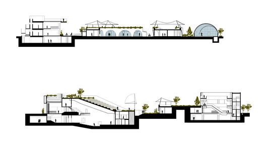 SECTION-_1_2 Dilli Haat / Archohm Consults Architecture