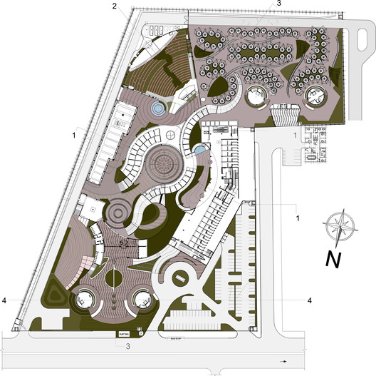 site_layout Dilli Haat / Archohm Consults Architecture