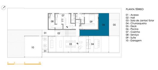 Dentro_e_Fora_ter InOut House / Sergio Sampaio Arquitetura + Planejamento Architecture