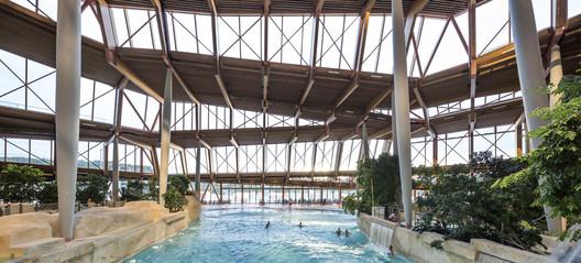 %C2%A9Jacques_Ferrier_Architecture___Photo_Luc_Boegly_9 Water Park Aqualagon / Jacques Ferrier Architecture Architecture