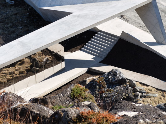 service_area_from_above_foto_MORFEUS_arkitekter BUKKEKJERKA / MORFEUS arkitekter Architecture