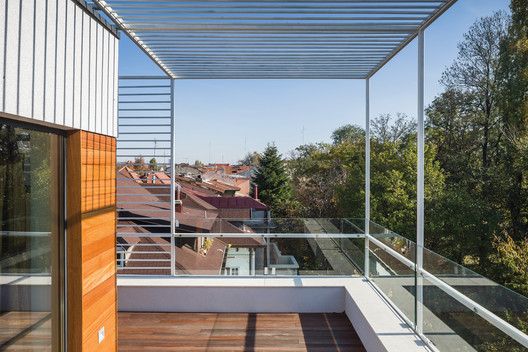 14_-_View_from_the_terrace Residential Building in Bucharest / Melon Design Studio Architecture