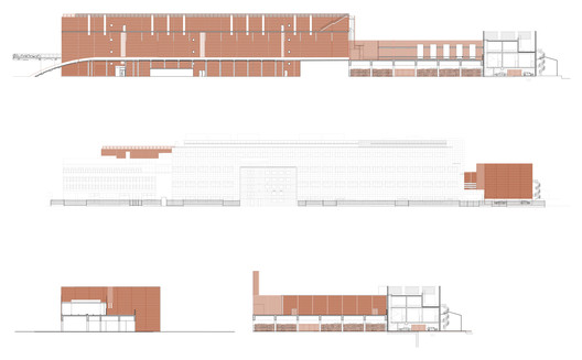 Global_Switch_Elevations_Reid_Brewin_Architects Global Switch Data Centre / Reid Brewin Architects Architecture