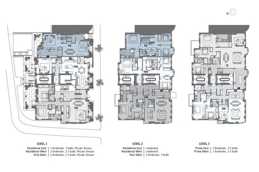 Level 1, 2 and 3 Plans