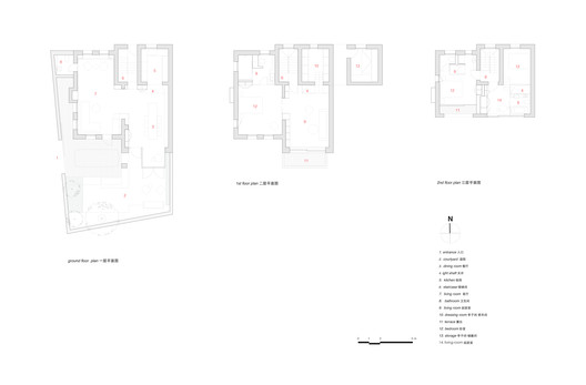 1-floor_plan The House with a Tiny Patio / Atelier TAO+C Architecture