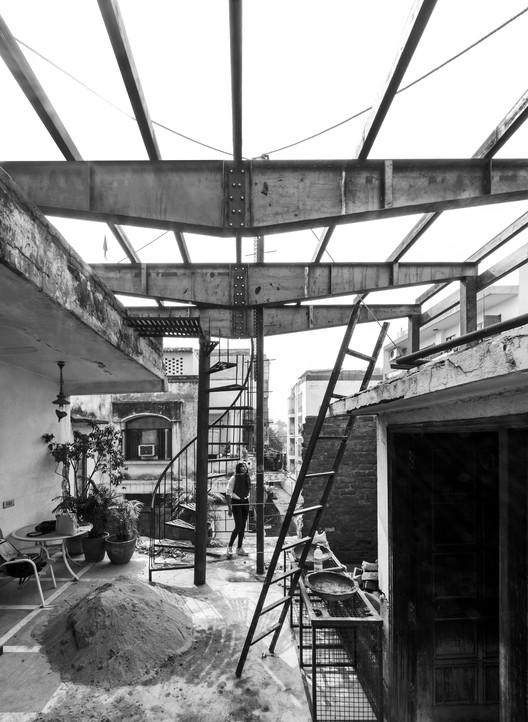 03 The Garden Roof Parasol / Harsh Vardhan Jain Architect Architecture