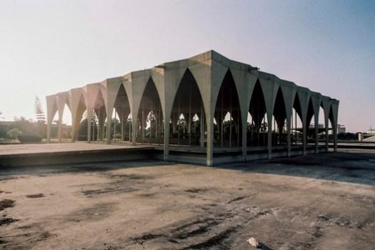 Rachid Karameh Exhibition. Image © Anthony Saroufim