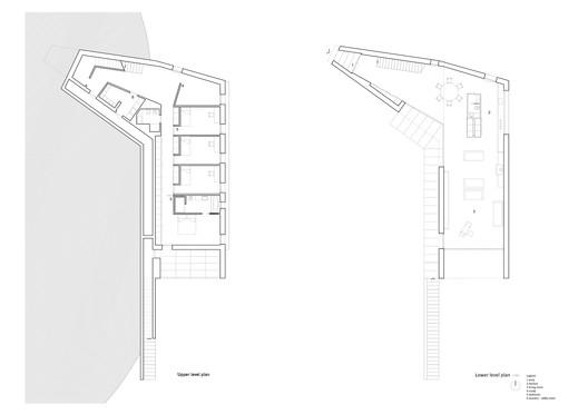 plans Casa K / Alessandro Bulletti Architetti Architecture