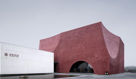 Main Entrance. Image © Qiang Zhao
