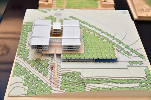 Preliminary architectural design for the Children's Hospital in Thessaloniki . Image © Marilena Katsini