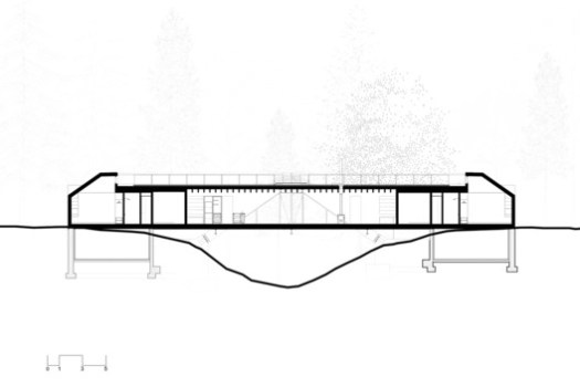 Bridge House Section