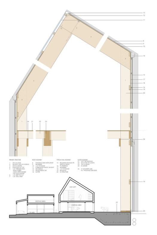 Swallowfield Barn Section