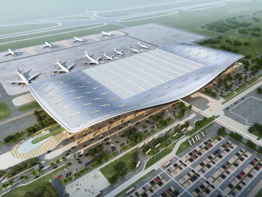 IBGA_Render_2011-06-22 Kempegowda International Airport / HOK Architecture