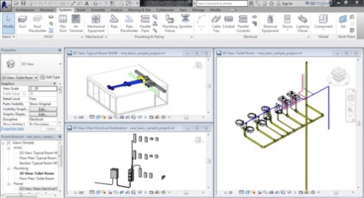 via Learning Autodesk Revit MEP 2016 / Udemy.com