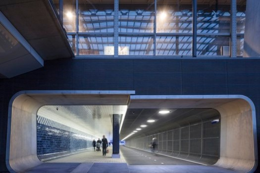 Cuypers Passage, Amsterdam / Benthem Crouwel Architects. Image Courtesy of 611