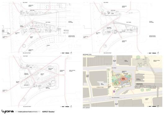 Yagan_Square_Plan_Drawings Yagan Square / Lyons Architects + iredale pedersen hook architects + ASPECT Studios Architecture