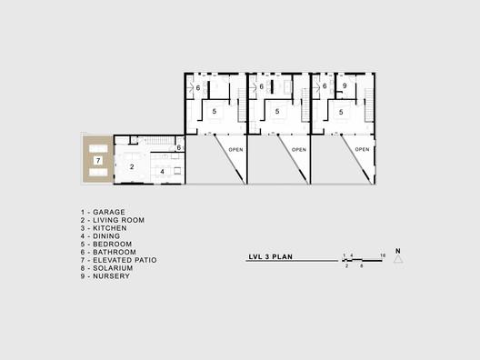lvl_3_plan Jason Street Multifamily / Meridian 105 Architecture Architecture