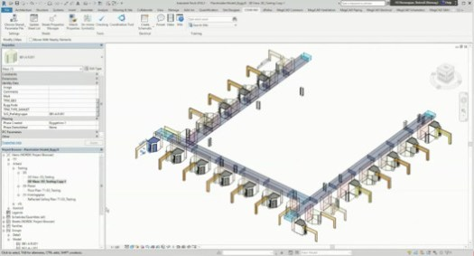 via AS124409: Revit for modular design, prefabrication and repetitive layouts / Autodesk.com
