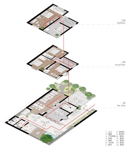 %E6%A0%96%E4%BA%91-01 Qiyun Boutique Hotel / Quanwen Interior Design Architecture