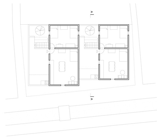 plan_2 Compact Housing in the Informal Settlements of Maputo / Casas Melhoradas Architecture
