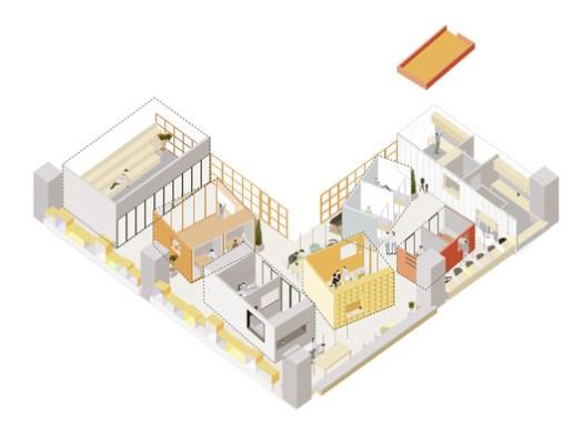 Cortesía de B.L.U.E. Architecture Studio