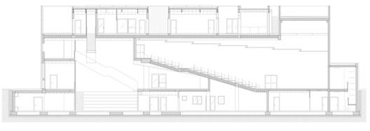 31_3_2014_sezione_longitudinale Music Center Theater Teca / Dapstudio / elena sacco – paolo danelli Architecture