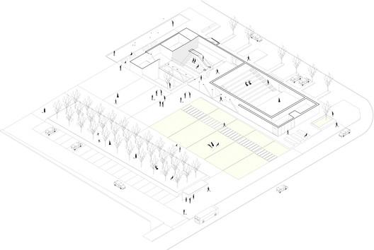 schema_piazza Music Center Theater Teca / Dapstudio / elena sacco – paolo danelli Architecture