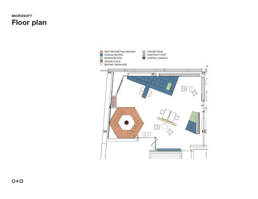 MicrosoftEnvisioningCenterFloorPlan Microsoft Envisioning Center / Studio O+A Architecture