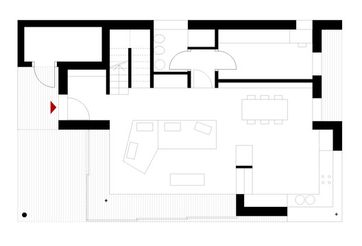 02_NM_00_1_100___Layout House NM / Studio Ecoarch Architecture