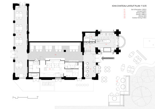 Floor plan. Image Courtesy of Spacemen