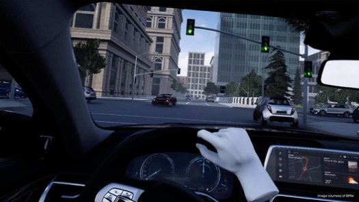 BMW Mixed Reality lab offers test drives while the car is still in the design phase.