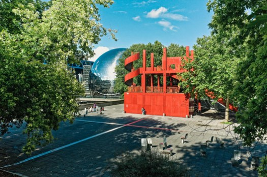 Parc de la Villette, designed by Bernard Tschumi. © victortsu on Visual Hunt / CC BY-NC