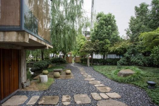 Courtyard Landscape. Image © Ryan Chiu