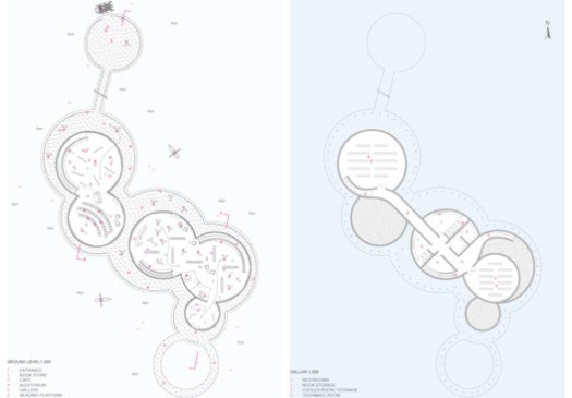 Plans. Image Courtesy of Space4Architecture