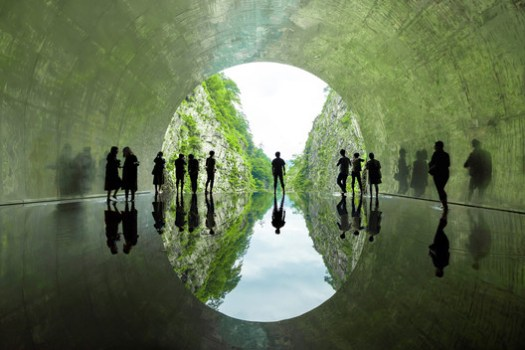 Light Cave (Water). Image Courtesy of Nacasa & Partners Inc
